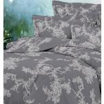 Puuvillasatiinist voodipesukomplekt 150x205/50x60