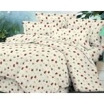 Puuvillsatiinist voodipesukomplekt 180x210/2x50x60