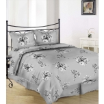 Puuvillasatiinist voodipesukomplekt 180x210/2x50x60