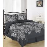 Puuvillasatiinist voodipesukomplekt