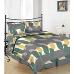 Puuvillasatiinist voodipesukomplekt 200x210/2x50x60